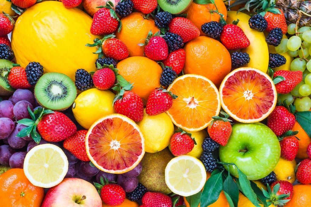 Fresh, fragrant fruits are full of terpenes